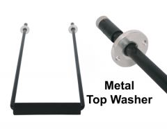 Aluminum Handle Assembly - metal washer